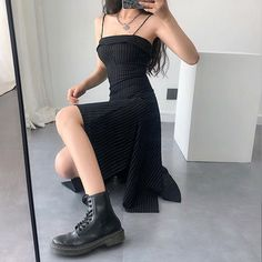 73 ways to look stylish wearing grunge outfits 55 Grunge Outfits, Gothic Outfits, Edgy Outfits, Cool Outfits, Fashion Outfits, Grunge Dress, Womens Fashion, Edgy Dress, Fashion Top