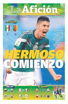 Portada La Afición Monterrey 14/06/14 | HERMOSO COMIENZO