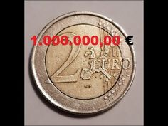 2 Euro Fehlprägung 1.000.000,00 € - YouTube Sell Old Coins, Old Coins Worth Money, Rare British Coins, Canadian Coins, Euro Coins, Valuable Coins, Coin Worth, Coin Values, Purse Tutorial