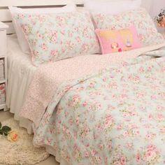 Brandream Bedding Sets on Sale Quilt Sets Queen, Queen Bedding Sets, Luxury Bedding Sets, Shabby Chic Bedroom Furniture, Shabby Chic Bedrooms, Girls Bedspreads, Comforters, Coverlet Bedding, Pillow Shams