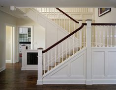 Hall Stairs Landing Design, Pictures, Remodel, Decor and Ideas - page 4