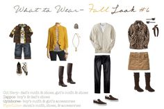 Great for fall sessions!  (from http://corinanielsen.com/blog/what-to-wear-october-2011/ )
