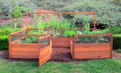 "Cedar Complete Raised Garden Bed Kit - 8'x12'x20"" - Eartheasy.com Solutions for Sustainable Living"