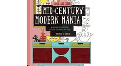 Look what we found: Mid Century Modern Coloring Book