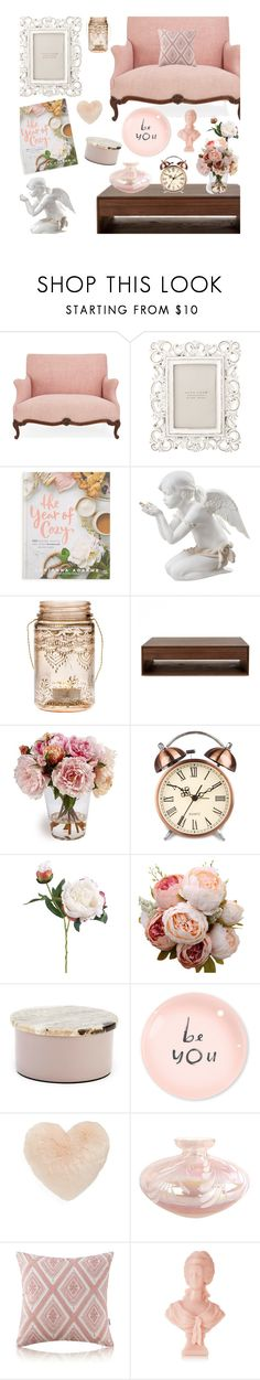 """""""Dusky cozy home"""" by alongcametwiggy ❤ liked on Polyvore featuring interior, interiors, interior design, home, home decor, interior decorating, Zara Home, Macmillan, Lladró and Cultural Intrigue"""