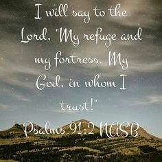 I Will Say To The Lord.......