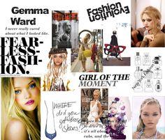 """Gemma Ward"" by fashionistacity on Polyvore"