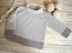 KNITTING PATTERN-Driftwood Sweater Top Down P127
