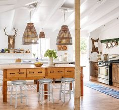 This is the kind of kitchen that inspires you to get cookin' (…