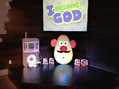 Kids Church Stage Props