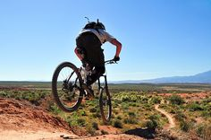 Mountain biking is one of those things that I didn't get into a lot, but when I did it, I enjoyed it!
