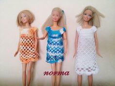 vestiditos para la barbie ... si les gusta.. dedito arriba - YouTube