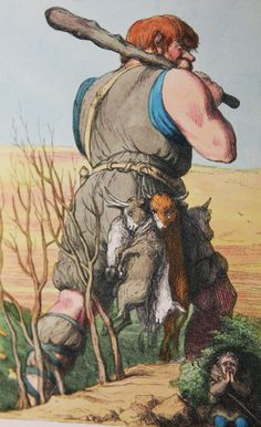 1851 RICHARD DOYLE illustration on eBay, via http://www.ebay.co.uk/itm/EXRARE-1851-RICHARD-DOYLE-AMAZING-1ST-DELUXE-EDN-FAIRY-TALE-35-COLOR-ILLS-WOW-/310818849909?pt=Antiquarian_Collectible&hash=item485e3f4475