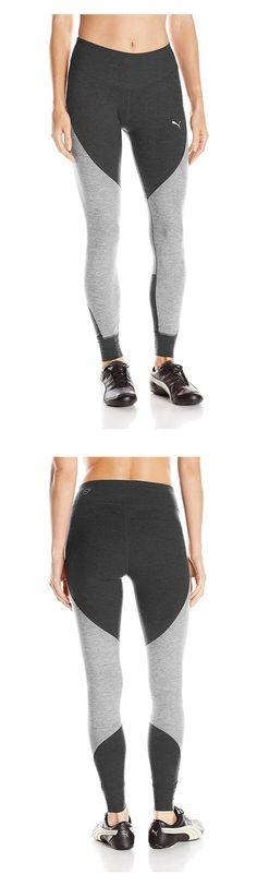 $30.28 - PUMA Women's Yogini Heather Tight Light Gray Heather #puma