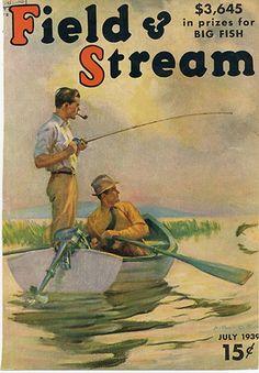 Fishin with Dad Hunting Magazines, Fishing Magazines, Fishing Books, Fishing Stuff, Garden And Gun Magazine, Outdoor Magazine, Life Magazine, Magazine Art, Vintage Magazines