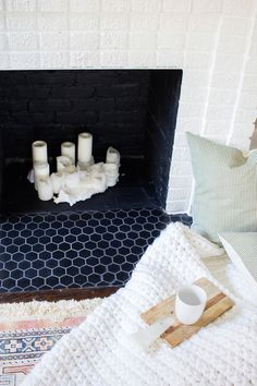 Always Rooney is dedicated to offering new do-it-yourself projects, tips on how to grow your etsy shop,and insights into my creative journey. Tv Above Fireplace, Fireplace Art, Cottage Fireplace, Fireplace Garden, Fireplace Shelves, Fireplace Built Ins, Victorian Fireplace, Concrete Fireplace, Marble Fireplaces