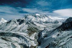 Monte Everest. Himalayas, Nepal.