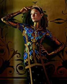 Costume Drama | Alexandra Martynova by Andrew Yee for How to Spend It Magazine November 2015