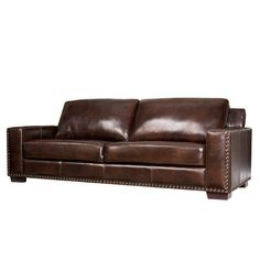 WAY FAIR Darby Home Co Larochelle Leather Sofa