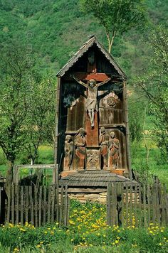 Rural Romania: Wolf People in Sheep's Clothing - Smit & Palarczyk History Of Romania, Wolf People, Spiritual Church, Home Altar, The Cross Of Christ, Lion Of Judah, Place Of Worship, Sacred Art, Cemetery