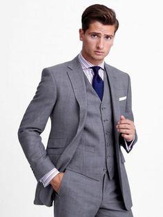Gray Three Piece Suit | Thomas Pink