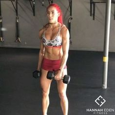 """1,460 Likes, 16 Comments - Hannah Eden (@hannaheden_fitness) on Instagram: """"Want to build some muscle? [45:15 
