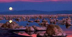 بحيرة مونو كاليفورنيا - العقل السليم