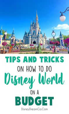 Disney World can be expensive! Here is a list of tips and tricks that can help y. Disney World can be expensive! Here is a list of tips and tricks that can help you do Disney World on a budget. Authorized Disney Vacation Planner, Disney World Vacation Planning, Disney Destinations, Walt Disney World Vacations, Disney Planning, Trip Planning, Family Vacations, Disney Resorts, Disney Land