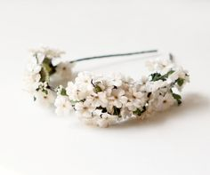 Velvet flower headpiece bridal hair crown flower by whichgoose, $85.00