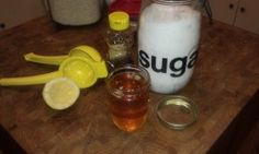 Honey Lemon Sugar home waxing. All natural, cheap and EASY. AND IT WORKS! I made it and tried it!