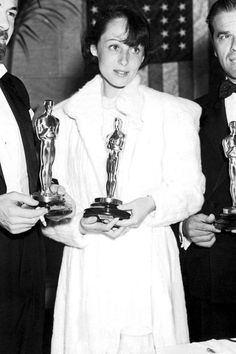 The Evolution of the Best Actress Winners' Gowns Through the Years Orry Kelly, Grace Kelly, Shirley Booth, The Great Ziegfeld, Luise Rainer, Judy Holliday, Anna Magnani, Academy Award Winners, Academy Awards