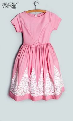 1950s girl's party dress