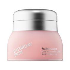 Featherweight Daily Moisturizing Cream - Saturday Skin | Sephora