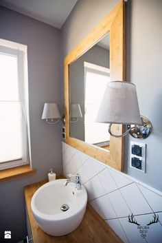 Mała łazienka. - zdjęcie od KRUBA DESIGN - Łazienka - Styl Rustykalny - KRUBA DESIGN