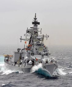 INS Ranvir, Rajput class Destroyer of the Indian Navy