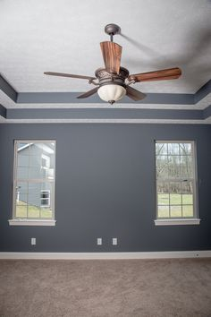 Master Bedroom with Stepped Ceiling