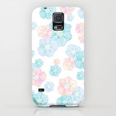 Blossoms Pastel Galaxy Case by Lisa Argyropoulos Samsung Galaxy S5 Phone, Pastel Galaxy, Merida, Blossoms, Ipod, Lisa, Iphone Cases, Accessories, Cases