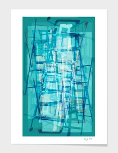 Discover «ladders», Limited Edition Fine Art Print by Randy Witte - From $29 - Curioos