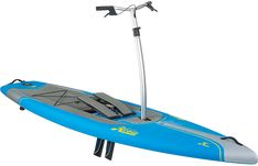 Glide through the water with the power of pedals. The Hobie Mirage Eclipse ACX stand up pedal board helps you move nimbly and effortlessly on aquatic adventures—no paddle necessary. Available at REI, Satisfaction Guaranteed. Hobie Pro Angler, Angler Kayak, Stand Up Pedal Board, Pedal Fishing Kayak, Hobie Mirage, Water Toys, Pedalboard, Pontoon Boat