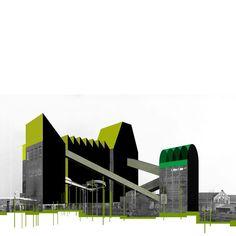 Beniamino Servino. Green Park. Variazioni di verde su variazioni di grigio/Hues of green on hues of grey.