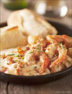 Shrimp and Grits - a Low Country classic! Southern comfort food at its best.