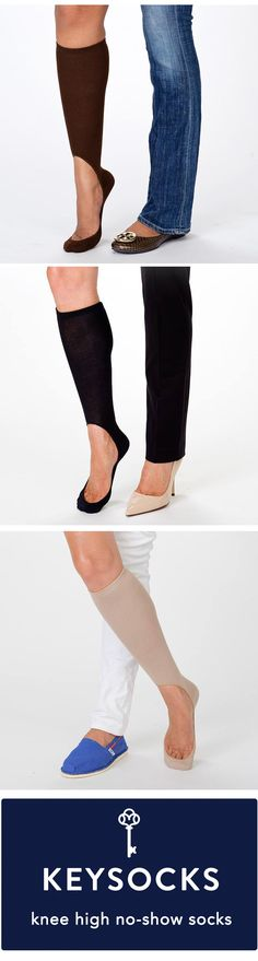 Say good-bye to unsightly socks and footies that won't stay in place. These sleek no show socks won't show when you're wearing heels or flats. Shop KEYSOCKS 41% off. http://she.steals.com/daily/deal/id/3008744