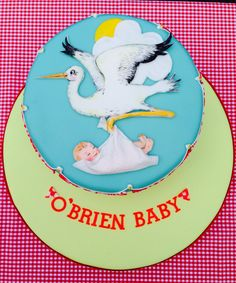 Conceived & delivered by Lady Luck's House of Cakes Hand Painted Cakes, Conceiving, Edible Art, Baby Shower Cakes, Cupcake Cakes, Disney Princess, Lady, Disney Characters, House