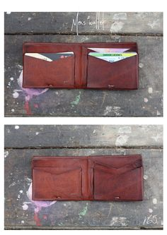 mens wallet by emmielepoertrench on Etsy Mens Travel Wallet, Leather Men, Leather Wallet, Canvas Wallet, Diy Purse, Rfid Wallet, Leather Projects, Leather Fabric, Leather Working