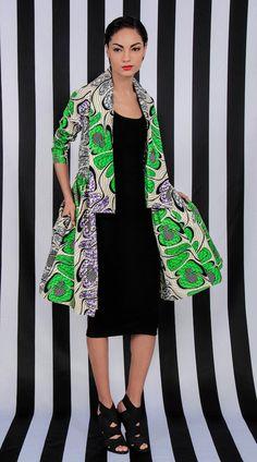 NOUVEAU la robe manteau de Gugu Wrap par DemestiksNewYork sur Etsy, $170.00