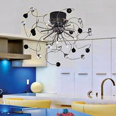 OOFAY LIGHT 9 Light Flush Mount Crystal Ceiling Light in Polished Chrome, Crystal,Modern Home Ceiling Light Fixture Pendant Light Chandeliers Lighting black&white OOFAY LIGHT http://www.amazon.com/dp/B00NCT275M/ref=cm_sw_r_pi_dp_ZnDdvb0VC80EH