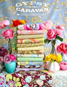 Amy Butler - Gypsy Caravan - Designer Cotton Prints - Fabric