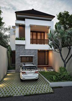 The Best 2019 Interior Design Trends - Interior Design Ideas Duplex House Design, House Front Design, Small House Design, Modern House Design, Modern House Plans, Small House Plans, Dream House Plans, Villa, 3d Home