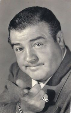 Lou Costello making a point