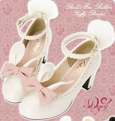 "2925dd7333a7 Sweet Bow Cute Rabbit Shoes enter ""thingsfromjapan"" for off"